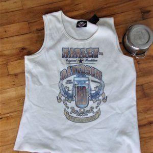 2 x 2x extra large Harley davidson   womens tee shirt tank top moto hdwear